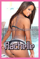 Rachelle is a Fit Female Stripper Babe